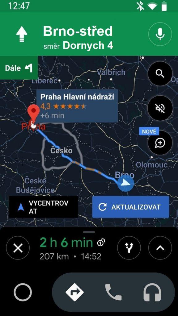 APK Android Auto - čeština