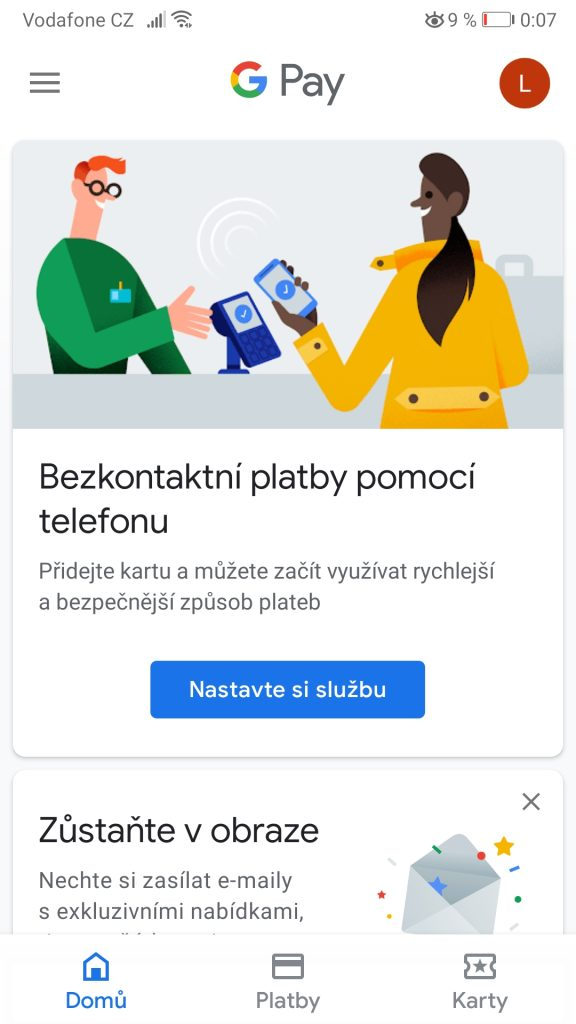 Google Pay - NFC