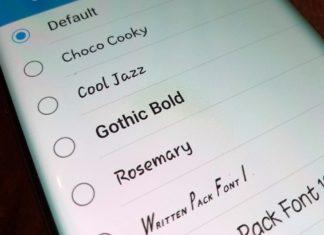 Android - změna písma
