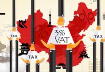 Čína - clo a DPH