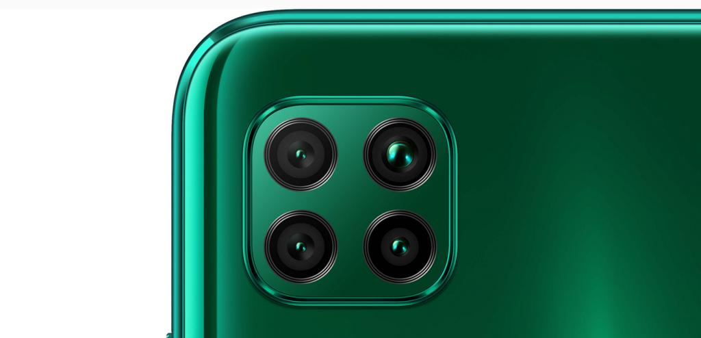 Čtyřnásobný fotoaparát Huawei P40 Lite