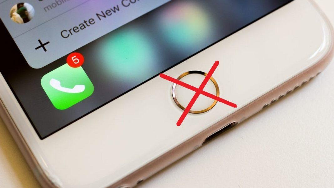 iPhone - nefunkční home button
