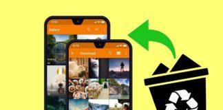 Android - obnova fotek