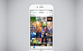 iPhone iOS - jak skrýt fotky