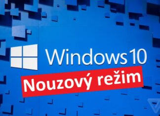 Windows 10 - nouzový režim
